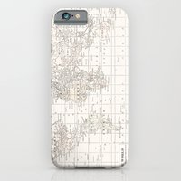 Vintage Cream And White iPhone 6 Slim Case