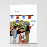Happy Valley Flower Market Stationery Cards