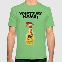 Whats my Name? Mens Fitted Tee Grass SMALL