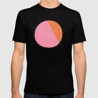 Retro Mod Flowers #4 By … Mens Fitted Tee Black SMALL