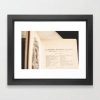 R&J Framed Art Print