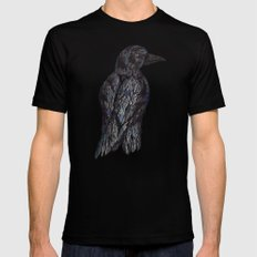 Black Bird Black Mens Fitted Tee SMALL