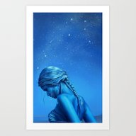 Art Print featuring The Dag by Laya Rose