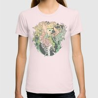 I N K : II Womens Fitted Tee Light Pink SMALL