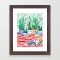 What Is Coming Is Better… Framed Art Print