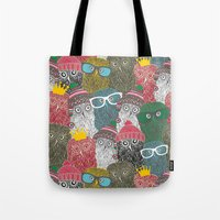 The crowd. Tote Bag