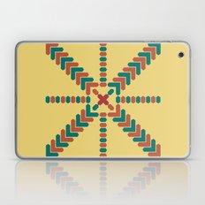 X Marks the Center Laptop & iPad Skin