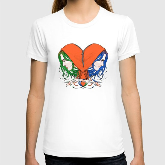 Clementine 39 S Heart T Shirt By Castlep P Society6