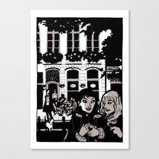 Away Canvas Print