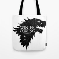 'Winter Is Coming' Tote Bag