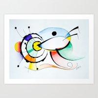 Eye - Ojo Art Print