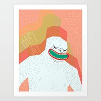 Your Not Yeti To Believe… Art Print