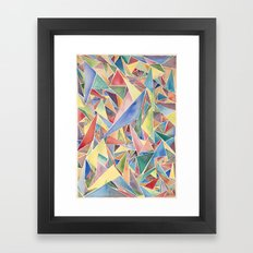 Perfection Isn't Necessary Framed Art Print