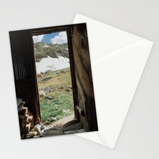 Colorado Mountain Cabin Stationery Cards