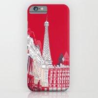 Glorious Paris - Red iPhone 6 Slim Case