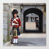 Guard of the Halifax Citadel Canvas Print
