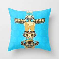 RUFUS TOTEM Throw Pillow