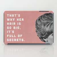 Full of Secrets iPad Case