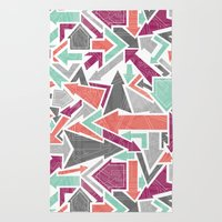 Patterned Arrows Rug