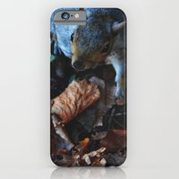 Autumn Squirrel  iPhone 6 Slim Case