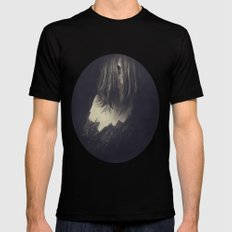 ♦ For Ana's Heart Is Still Of Stone ♦ Black SMALL Mens Fitted Tee