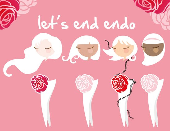 Let's End Endo Art Print