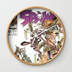 Spawn 9 cover Wall Clock
