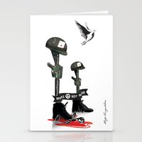 War Peace Stationery Cards