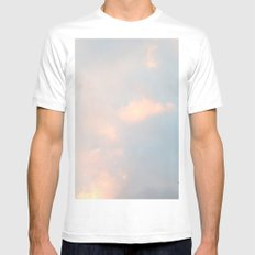 edinburgh sky White Mens Fitted Tee SMALL