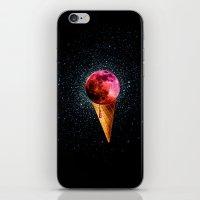 sweet side of the moon iPhone & iPod Skin