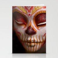 Crimson Harvest Muertita… Stationery Cards