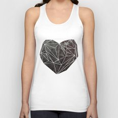Heart Graphic 4 Unisex Tank Top
