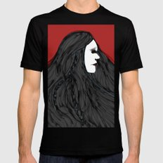 March of The Black Queen SMALL Black Mens Fitted Tee
