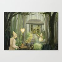I Give You My Heart Canvas Print