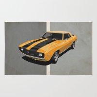 Camaro- Yellow Rug
