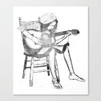 Musical Solitude Canvas Print