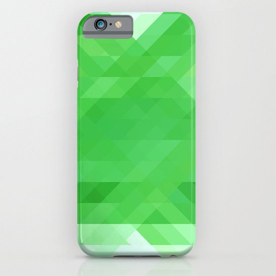 Green Geometrics iPhone & iPod Case
