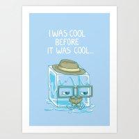 Hipster Art Print