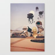 Fear And Loathing On Tat… Canvas Print