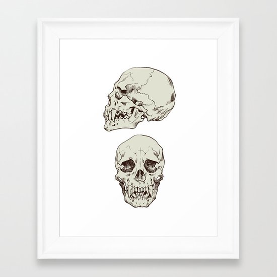 Lycanthrope Framed Art Print