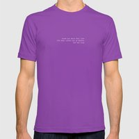 SKY Mens Fitted Tee Ultraviolet SMALL