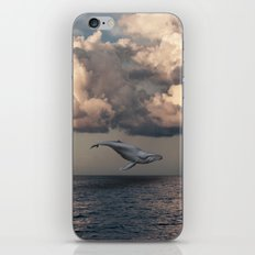 Whale In The Sky iPhone & iPod Skin