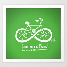 Infinite Fuel  Art Print
