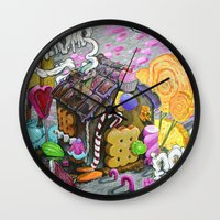 candy house Wall Clock