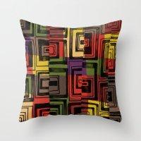 tiled Throw Pillow