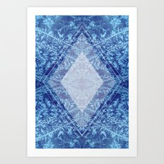 Crystal Kaleidoscope Art Print
