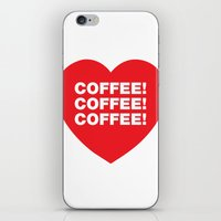 COFFEE! iPhone & iPod Skin