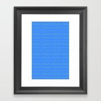 Look! A Bad Pattern! Framed Art Print