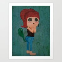 Farts Are The Ghosts Of … Art Print