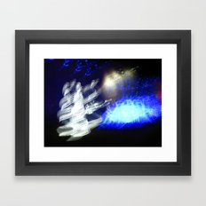 Snow Queen Disco Framed Art Print